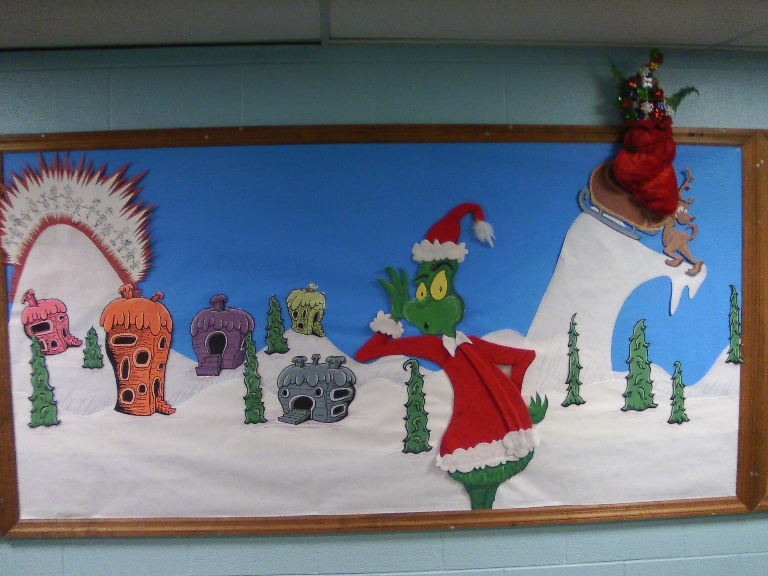 Grinch Bulletin Board My Nascent Inklings